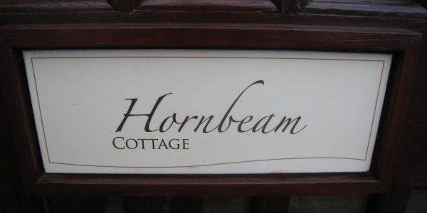 Hornbeam Cottage Door